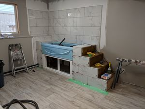Commercial Renovation - Dog Groomer with Sharp Building Solutions - During