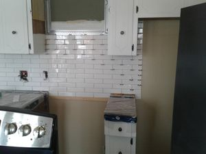 Kitchen Renovation with Sharp Building Solutions - During Renovation
