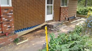 Outdoor Renovation with Sharp Building Solutions - Before