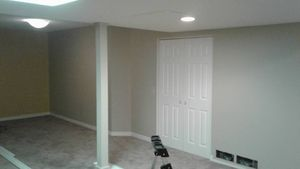 Basement Renovation with Sharp Building Solutions - Completed